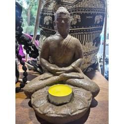 Portavela Buda de piedra